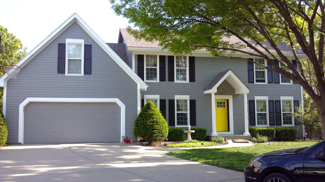 Professional Exterior Painting Lees Summit Blue Springs - ANEW-HUE ...